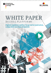 디지털 플랫폼 백서 : 성장, 혁신, 경쟁 및 참여를 위한 디지털 규제 정책 (White paper: digital platforms: Digital regulatory policy for growth, innovation, competition and participation)