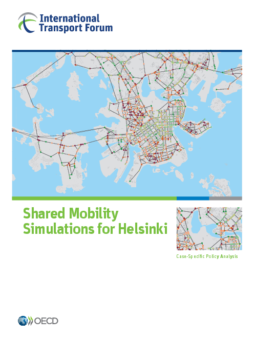 헬싱키의 공유이동성 시뮬레이션 : 사례별 정책 분석 (Shared mobility simulations for Helsinki: Case-specific policy analysis)