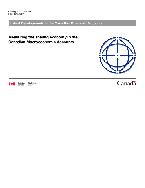 캐나다 거시경제계정의 공유 경제 측정 (Measuring the sharing economy in the Canadian Macroeconomic Accounts)
