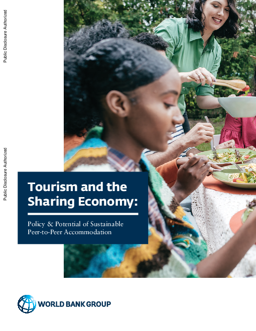 관광 및 공유 경제 : 지속 가능한 P2P 숙박 시설 정책 및 잠재력 (Tourism and the Sharing Economy: Policy and Potential of Sustainable Peer-to-Peer Accommodation)