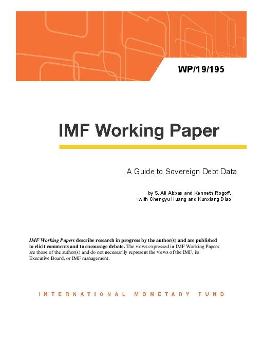 국가 부채 데이터 안내 (A Guide to Sovereign Debt Data)