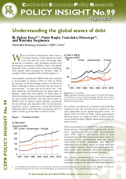 Understanding the global waves of debt