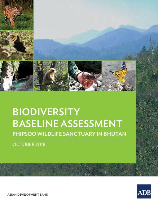 Biodiversity Baseline Assessment: Phipsoo Wildlife Sanctuary in Bhutan