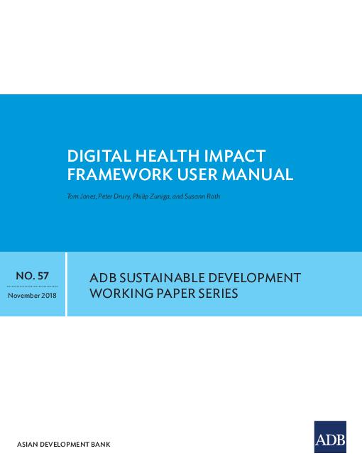 "Digital <span class=""accent"">Health</span> Impact Framework User Manual"