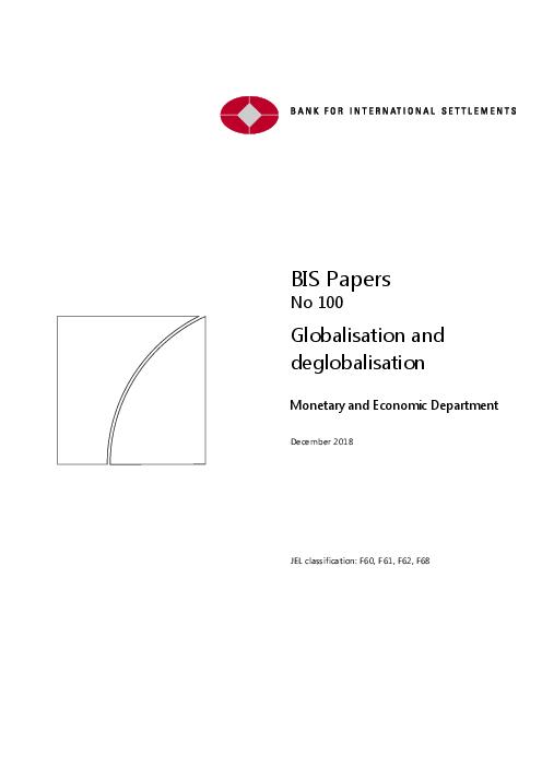 Globalisation and deglobalisation
