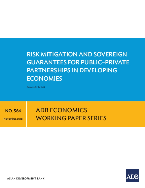 Risk Mitigation and Sovereign Guarantees for Public–Private Partnerships in Developing Economies