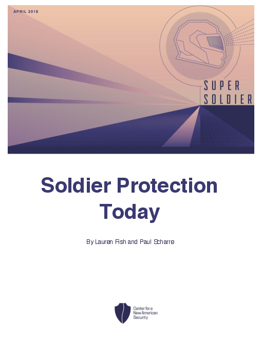 Soldier Protection Today