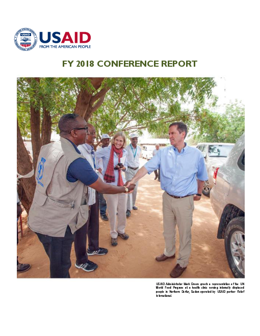 FY 2018 Conference Report