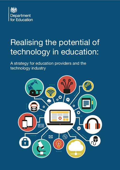 Realising the potential of technology in education: A strategy for education providers and the technology industry