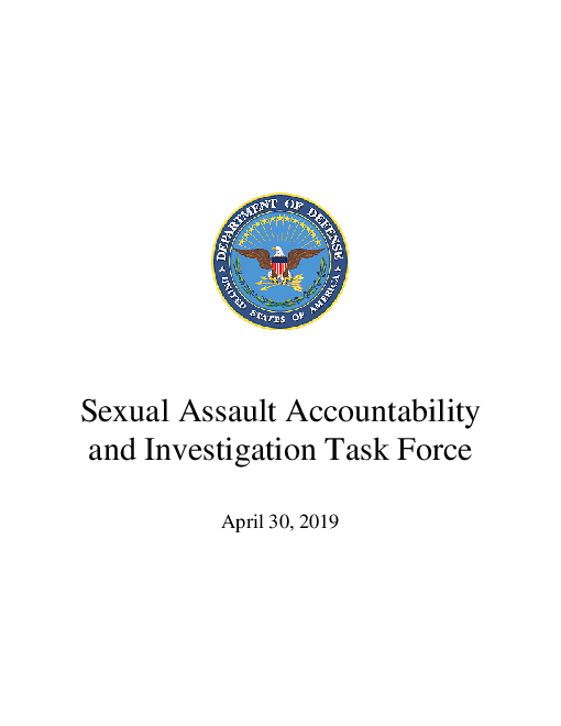 Sexual Assault Accountability and Investigation Task Force