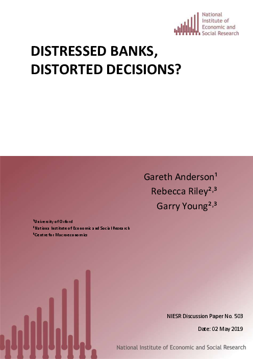 Distressed Banks, Distorted Decisions?