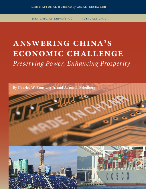 Answering China's Economic Challenge: Preserving Power, Enhancing Prosperity