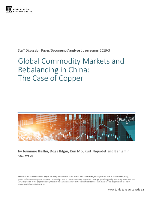 Global Commodity Markets and Rebalancing in China: The Case of Copper