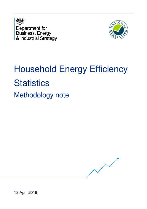 Household Energy Efficiency Statistics: Methodology note