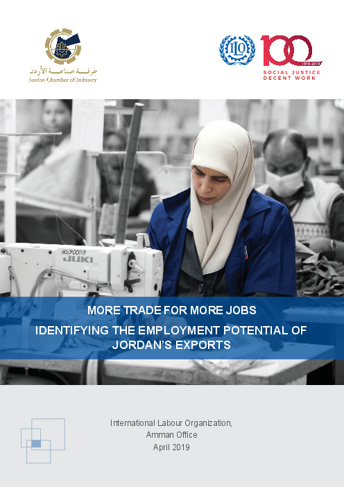 More Trade for More Jobs: Identifying The Employment Potential of Jordan's Exports
