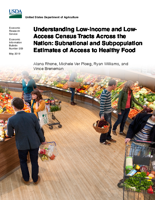 Understanding Low-Income and Low-Access Census Tracts Across the Nation: Subnational and Subpopulation Estimates of Access to Healthy Food