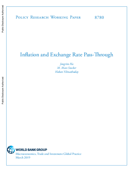 Inflation and Exchange Rate Pass-Through