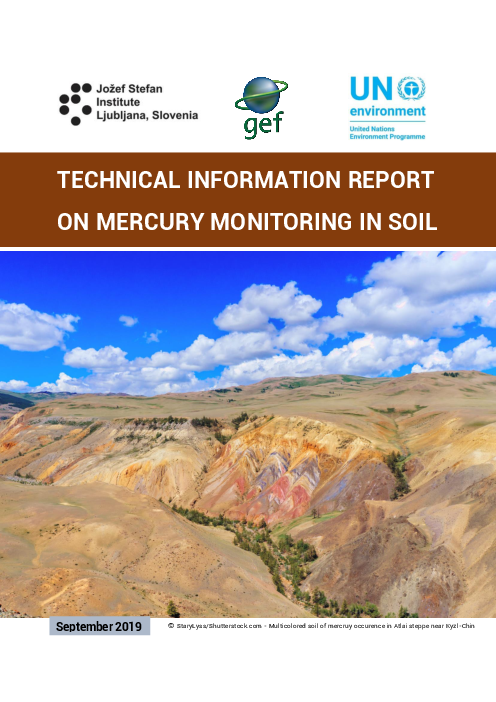Technical information on mercury monitoring in soil