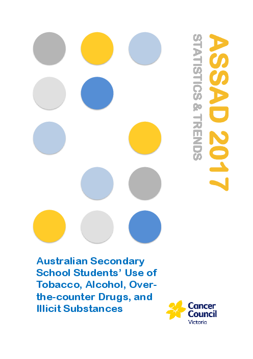 ASSAD 2017 Statistics & Trends: Australian Secondary School Students' Use of of Tobacco, Alcohol, over-the-counter Drugs, and Illicit Substances