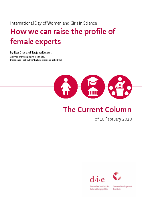 How we can raise the profile of female experts: International Day of Women and Girls in Science