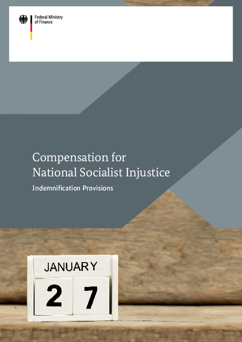 Compensation for National Socialist Injustice: Indemnification Provisions
